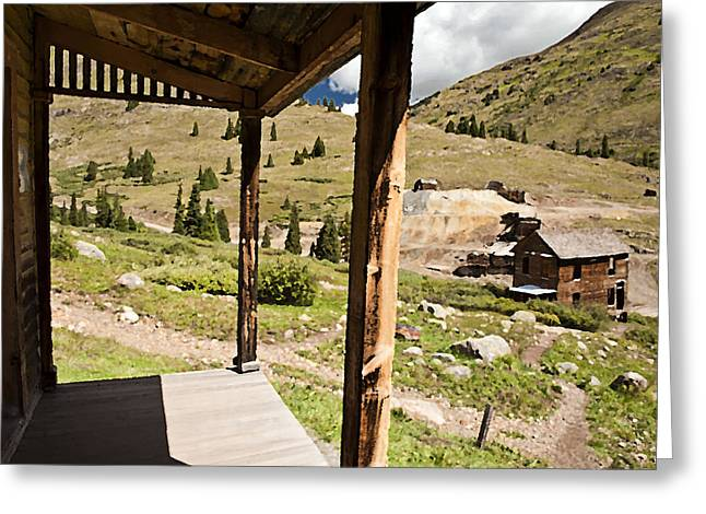 Animas Forks Palette Greeting Card by Melany Sarafis