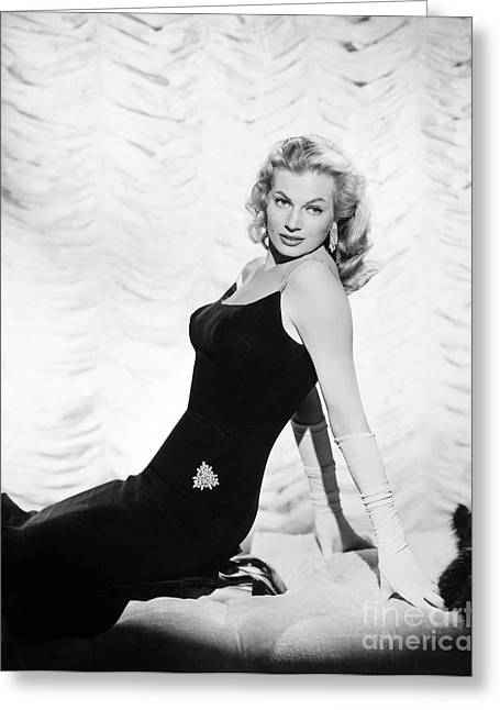 Anita Ekberg (1932- ) Greeting Card