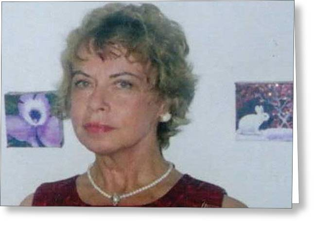 Anne With Short Hair  But Not Now Greeting Card by Anne-Elizabeth Whiteway