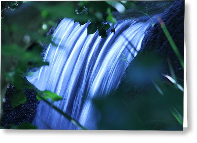 Another Waterfall Greeting Card