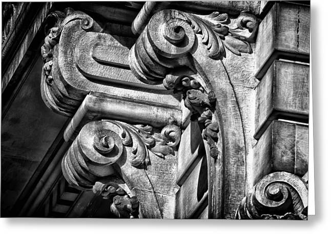Ansonia Building Detail 21 Greeting Card by Val Black Russian Tourchin