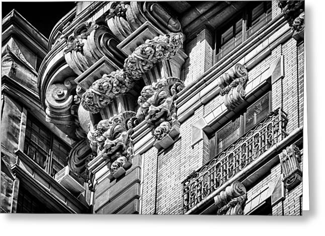 Ansonia Building Detail 45 Greeting Card