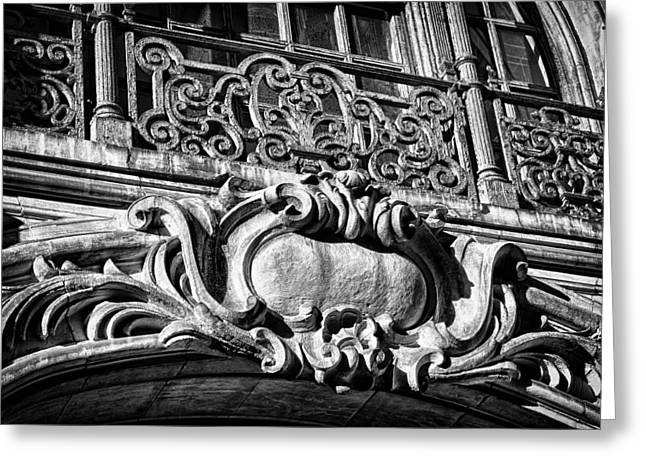 Ansonia Building Detail 5 Greeting Card by Val Black Russian Tourchin