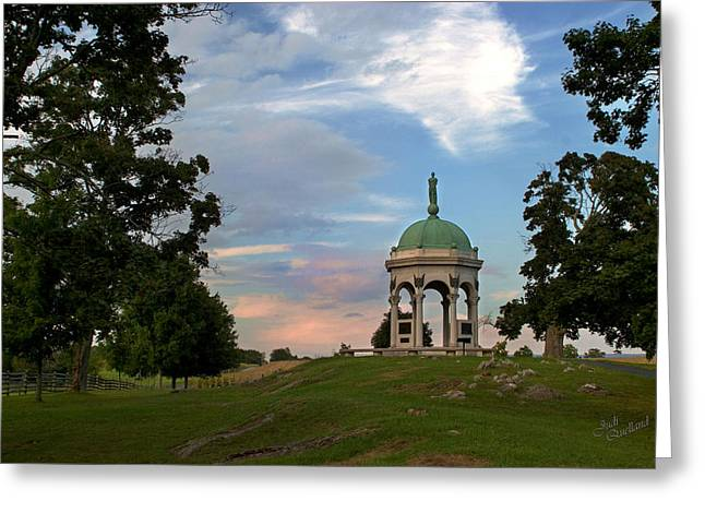 Antietam Maryland State Monument Greeting Card by Judi Quelland