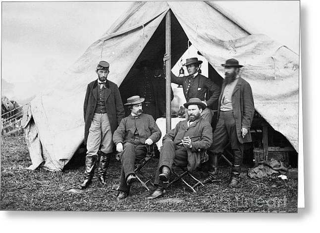 Antietam: Officials, 1862 Greeting Card by Granger