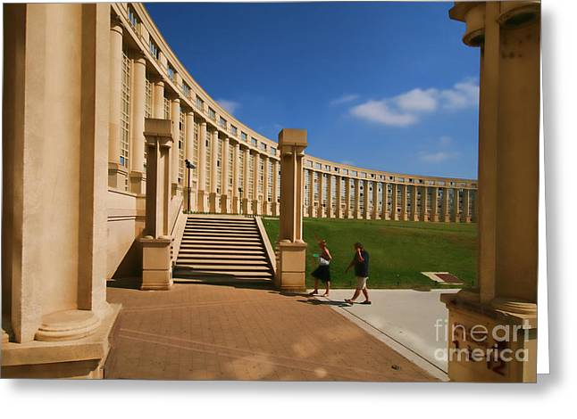 Antigone Montpellier Colour I Greeting Card by Jack Torcello