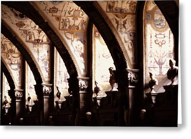 Antiquarian Hall The Residenz Munich Greeting Card by Tom Wurl