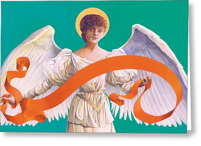 Antique Angel Greeting Card