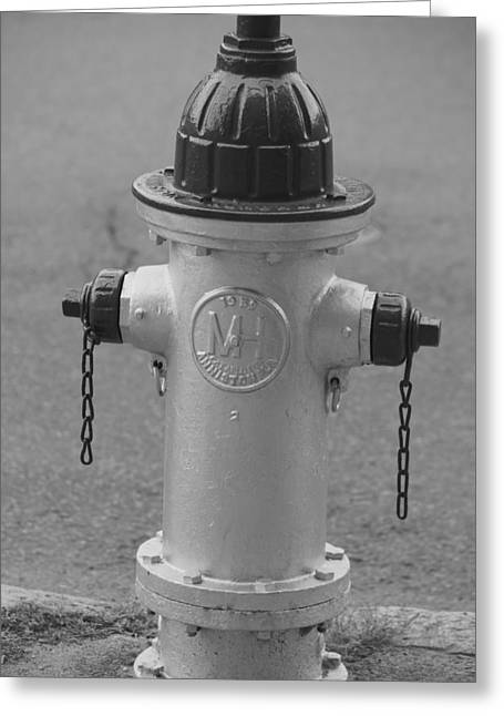Antique Fire Hydrant Cambridge Ma Greeting Card