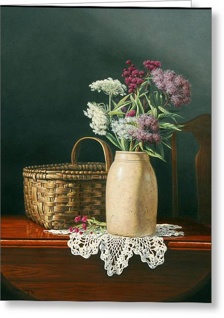 Antiques Greeting Card by Ron Louque