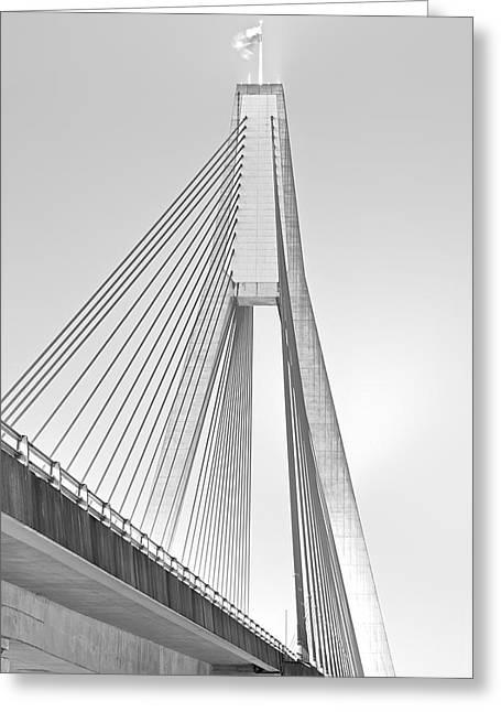 Anzac Bridge - Glebe Nsw Greeting Card