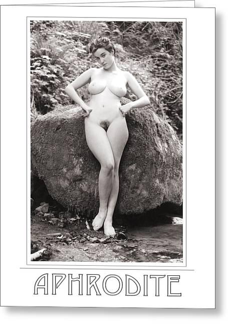 Aphrodite Greeting Card by Ellis Christopher