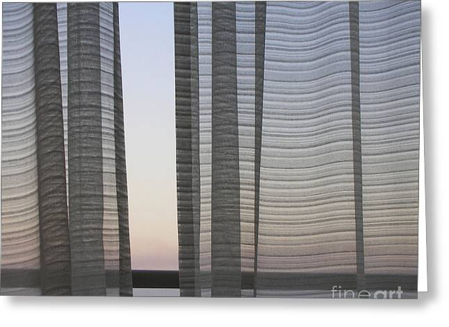 Aphrodites Veil Greeting Card by Andy  Mercer