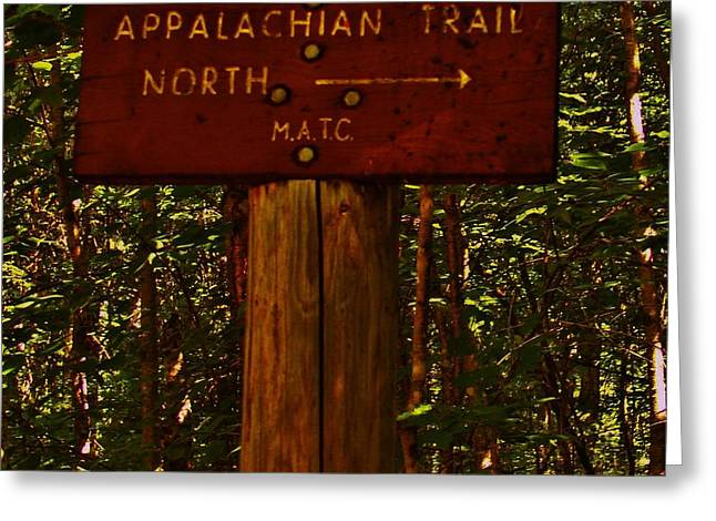 Appalachian Trail Greeting Card by Sarah Buechler
