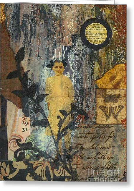 Apparition Beyond The Vine Greeting Card