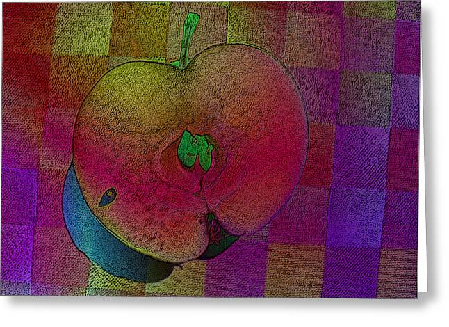 Greeting Card featuring the photograph Apple Of My Eye by David Pantuso