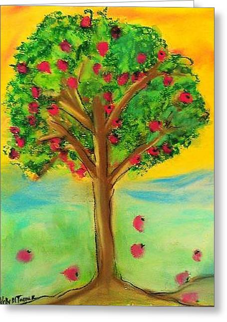 Apple Tree Greeting Card
