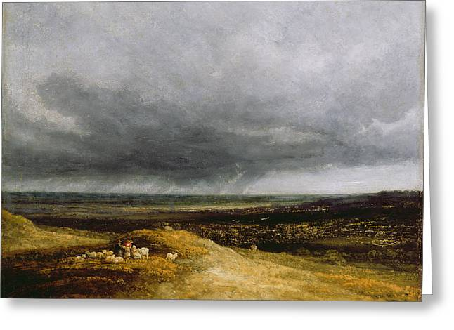 Approaching Storm Greeting Card by Georges Michael