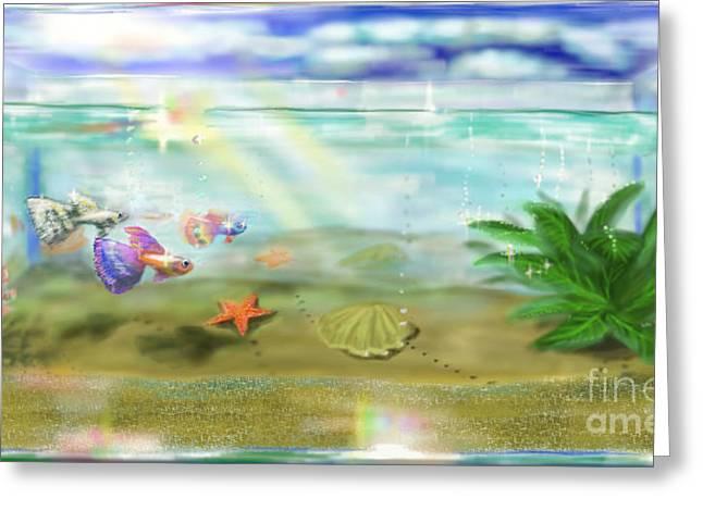 Aquarium Greeting Card by MURUMURU By FP