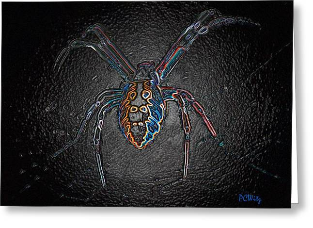 Greeting Card featuring the photograph Arachnophobia by Patrick Witz