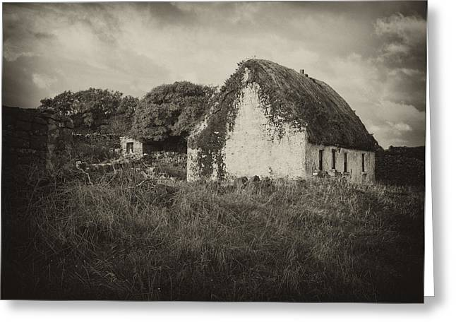 Greeting Card featuring the photograph Aran Island Home by Hugh Smith