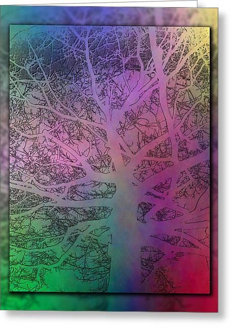 Arboreal Mist 1 Greeting Card