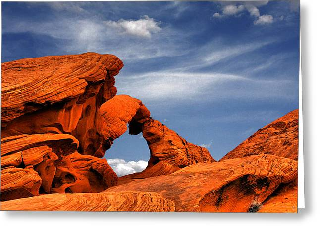 Arch Rock - Amazing Show Of Nature Greeting Card by Christine Till