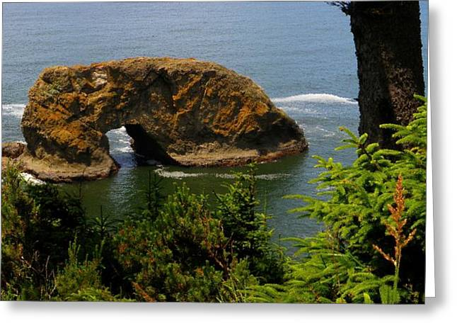 Arch Rock Greeting Card