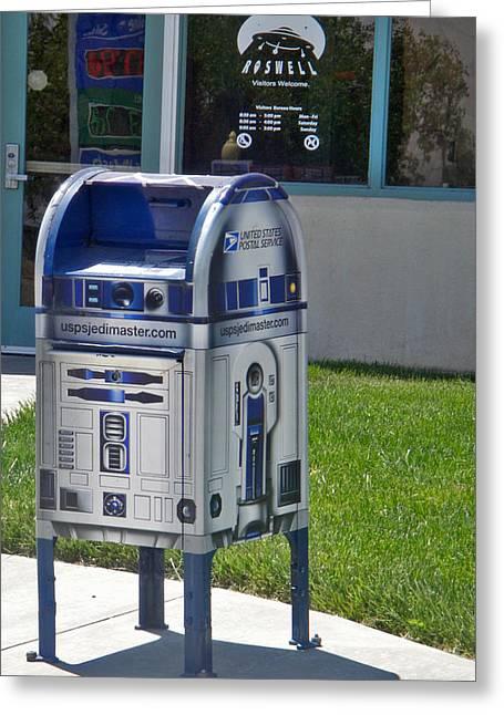 Area 51 Mailbox Greeting Card