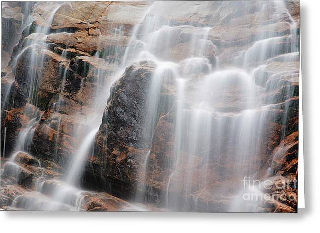 Arethusa Falls - Crawford Notch State Park New Hampshire Usa Greeting Card by Erin Paul Donovan