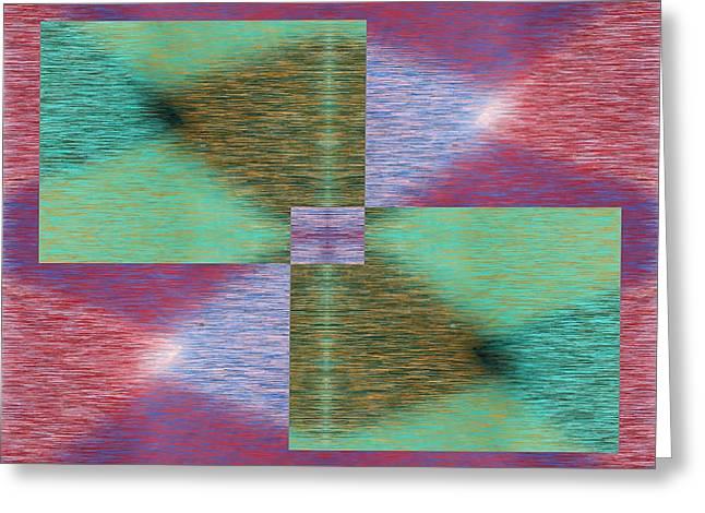 Argyle Seam 2 Greeting Card by Tim Allen