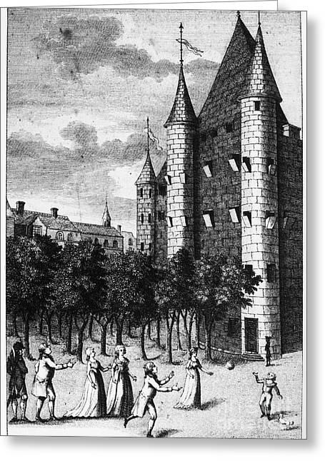 Aristocrat Prisoners, C1793 Greeting Card by Granger