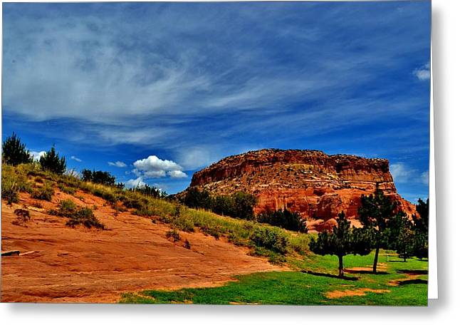 Arizona Canyon Greeting Card by Sara Edens