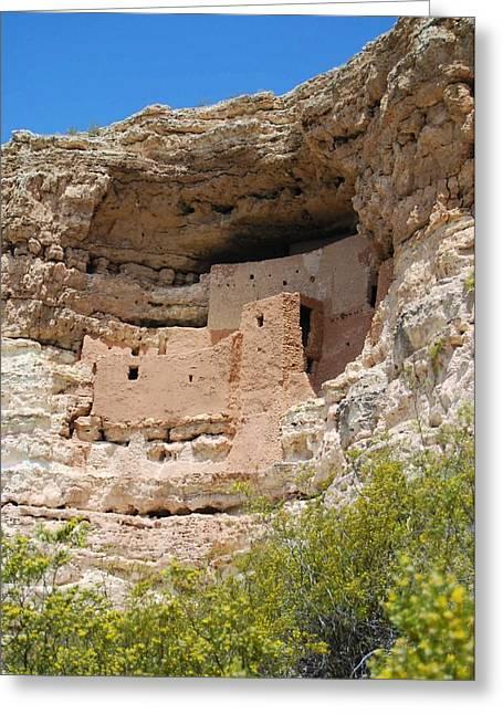 Arizona Cliff Dwellings Greeting Card