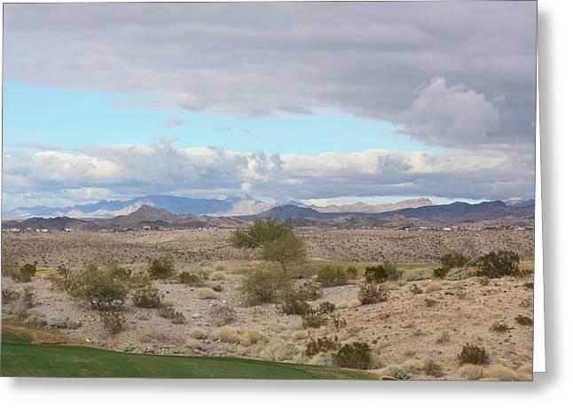 Arizona Desert View Greeting Card