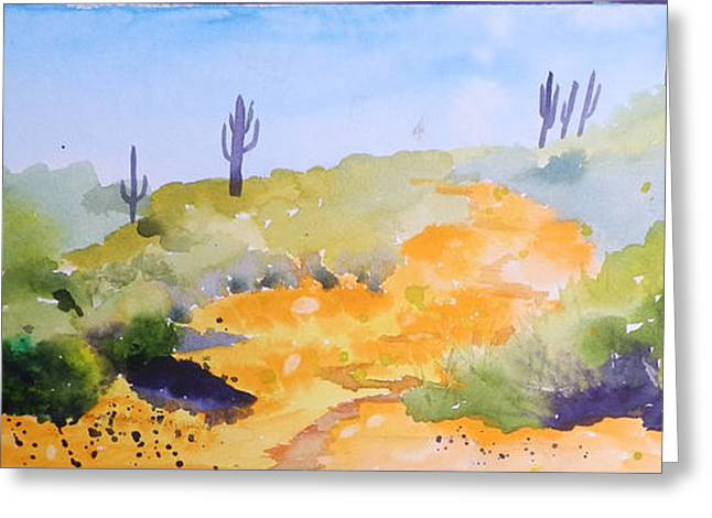 Arizona Springtime Greeting Card