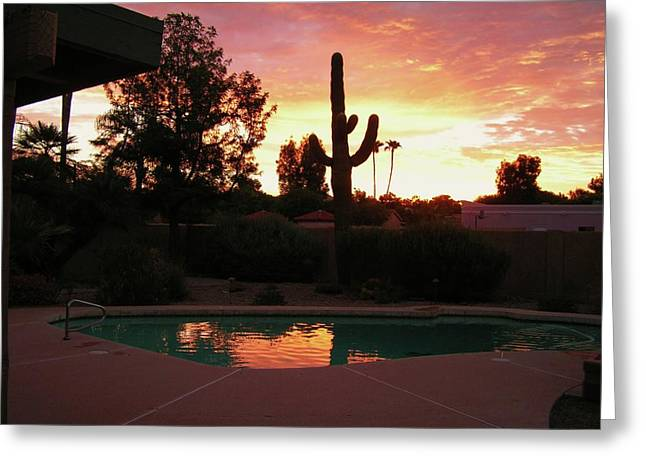 Arizona Sunrise 04 Greeting Card