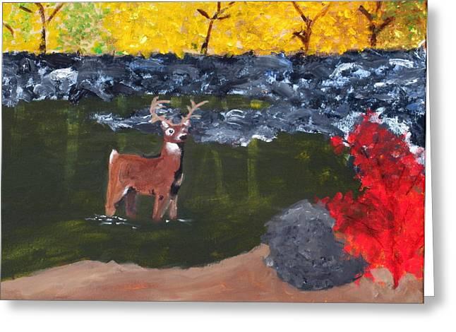 Arkansas Wildlife Greeting Card by Ashley Anthony