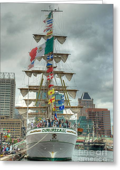 Arm Cuauhtemoc Greeting Card