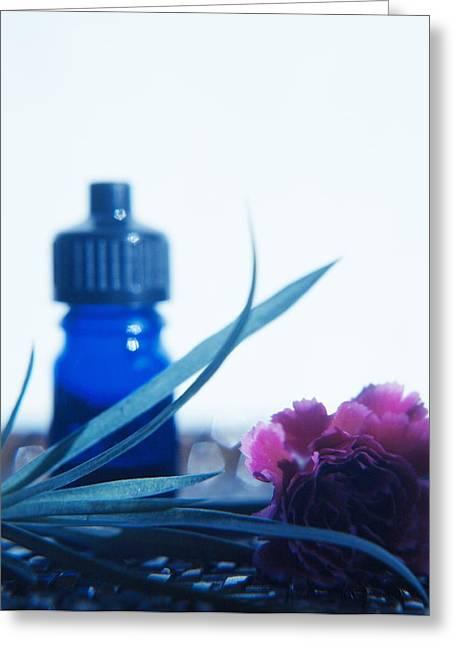 Aromatherapy Greeting Card by Cristina Pedrazzini