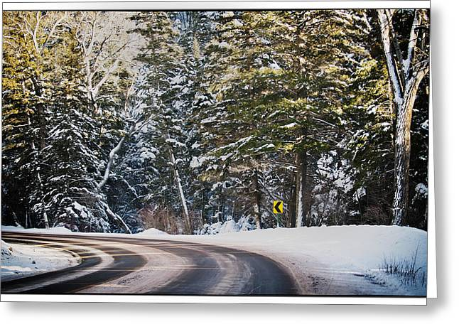 Greeting Card featuring the photograph Around The Bend by Lisa  Spencer