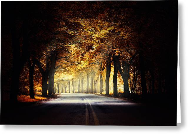 Around The Bend... Greeting Card by Marek Czaja