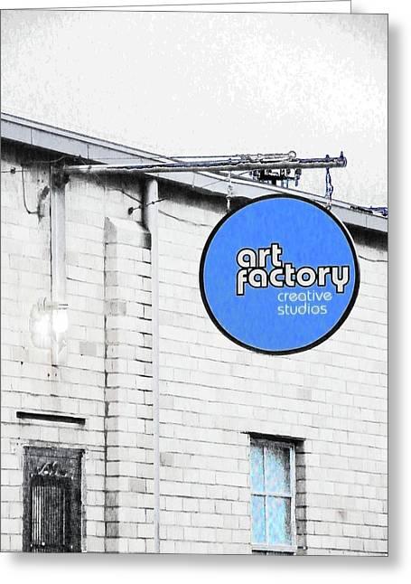 Art Factory Greeting Card