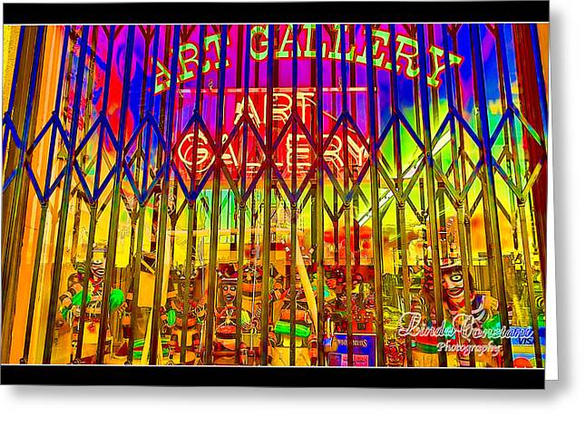 Art Gallery Greeting Card