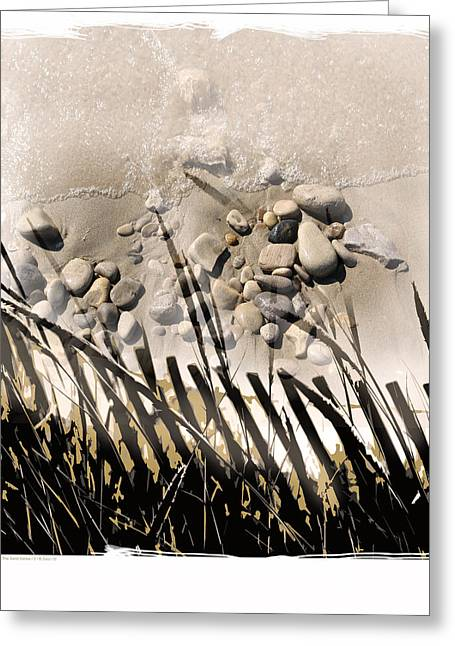Art In The Sand Series 2 Greeting Card