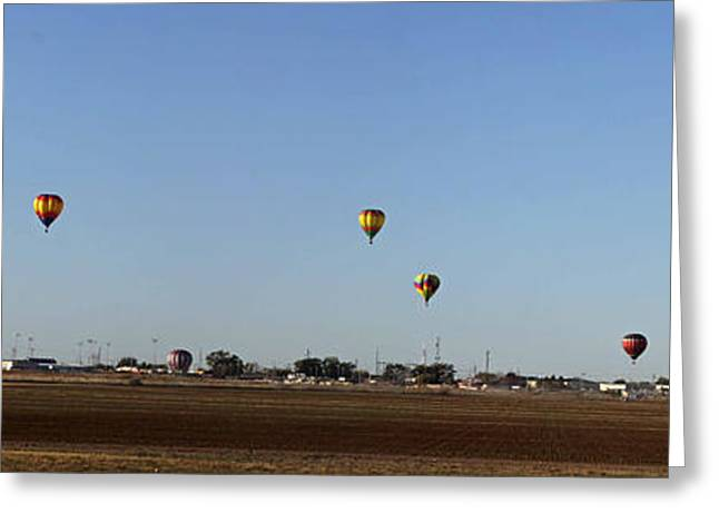 Artesia's Balloon And Bluegrass Festival Greeting Card