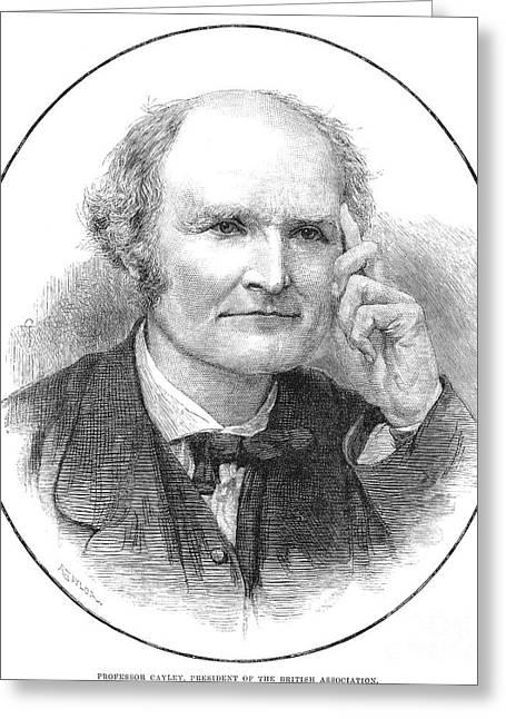 Arthur Cayley (1821-1895) Greeting Card by Granger