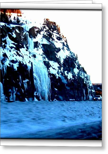 Greeting Card featuring the photograph Artic Jewel  by Danielle  Parent