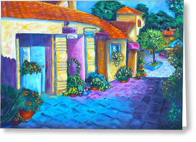 Artist Village Greeting Card