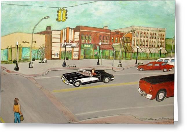 Arts Of Lapeer Greeting Card by Sharon Lee Samyn